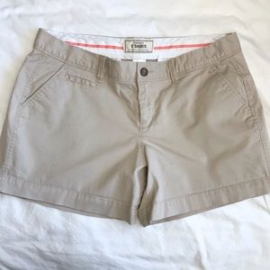 Old Navy Perfect Favorite Khaki Shorts